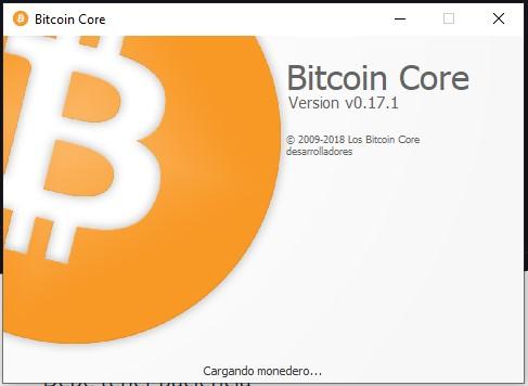 Bitcoin Core Inicio